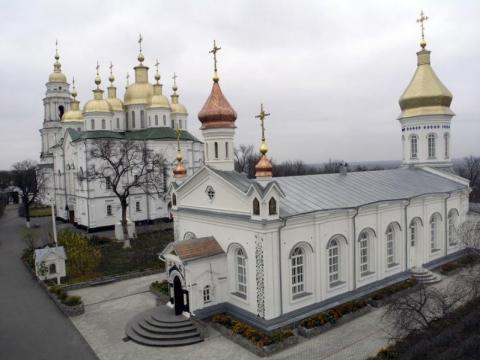 Хрестовоздвиженський монастир - в Полтава