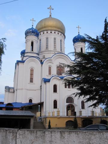 Храм Христа Спасителя - Ужгород