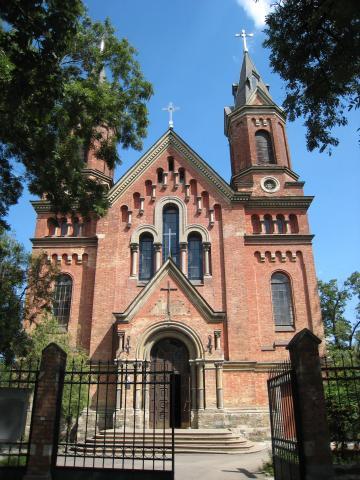 Костел святого Йосипа - Миколаїв
