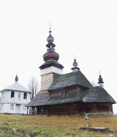 Миколаївська церква - Свалява