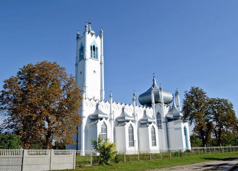 Спасо-Преображенська церква - Мошни