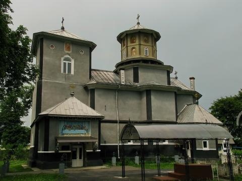 Спиридонівська церква в Герці