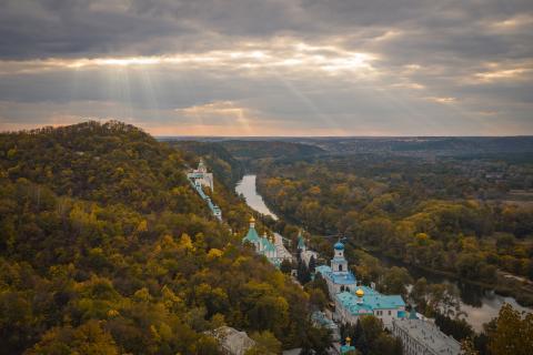 Святогірська лавра - Донецька область