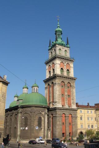Церква Успіння Пресвятої Богородиці - Львів