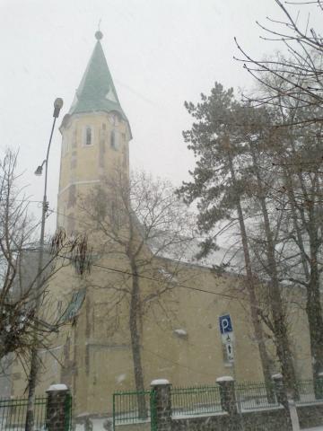Вознесенський костел - Виноградів