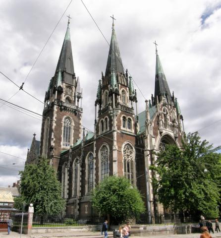Церква святих Ольги і Єлизавети - Львів