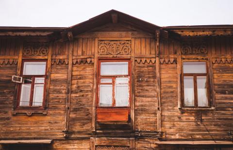 Найстаріший дерев'яний будинок - Дніпро