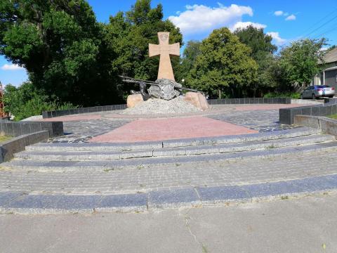 Фото пам'ятника козацької слави