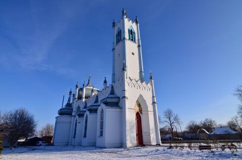 Преображенська церква Мошни