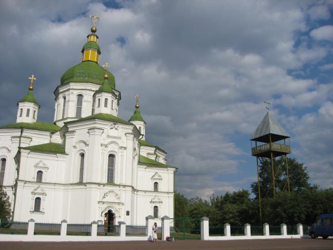 Спасо-преображенська церква В Великих сорочинцях