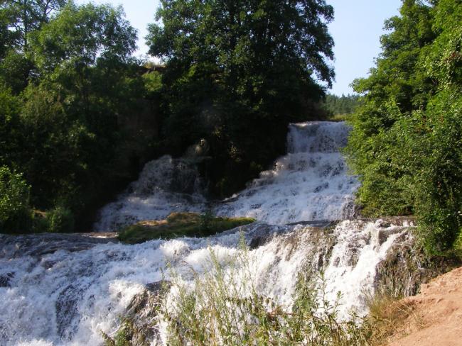 Червоногородський водоспад - Тернопільська область