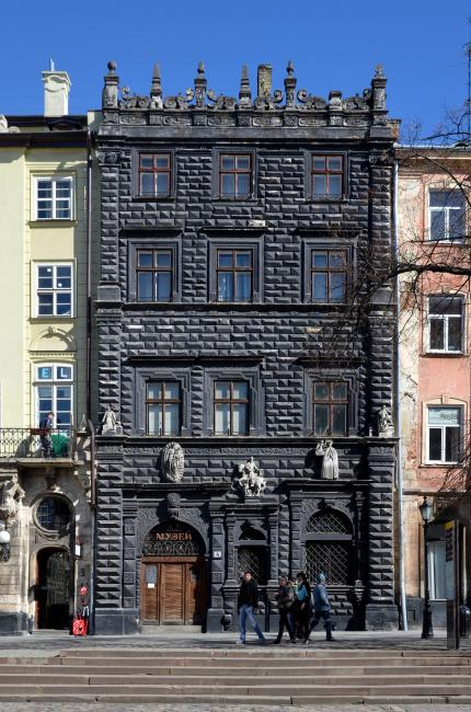 Чорна камяниця - Львів