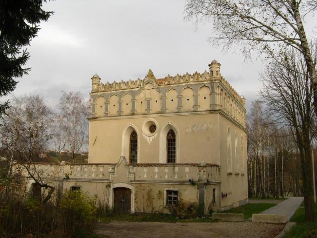 Гусятинська синагога - Тернопільска область