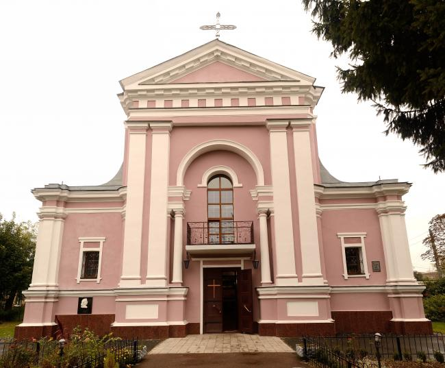 Костел святої Варвари - Бердичів