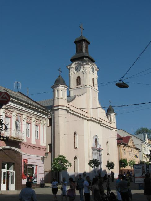 Костел святого Юрія - Ужгород