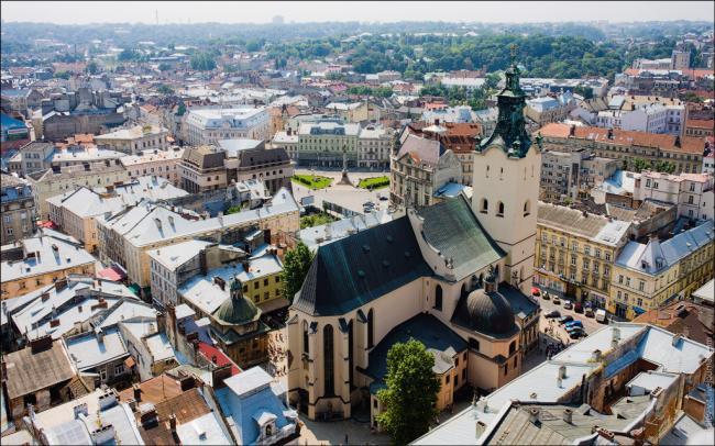Місто лева - колиска культури україни