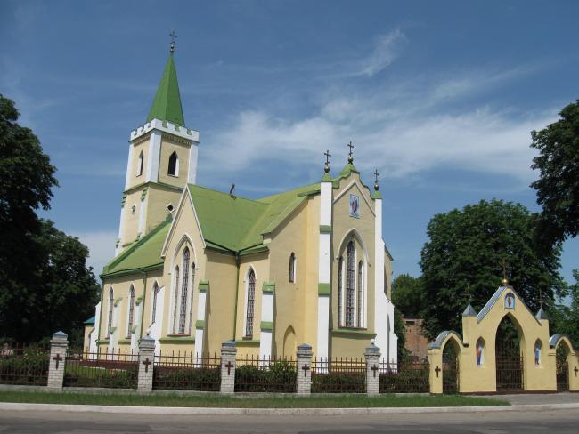 Михайлівська церква - Городище
