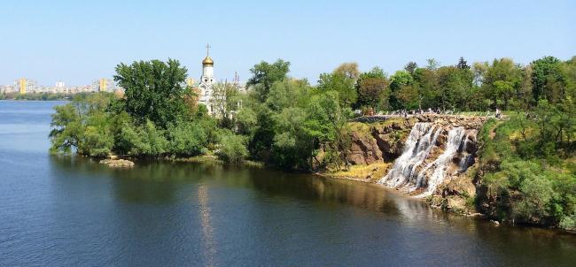 Монастирський острів - Дніпро