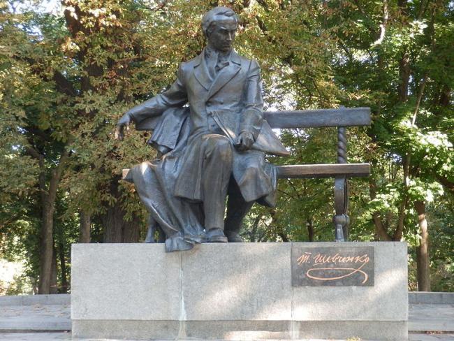 Памятник Тарасові Шевченку - Чернігів