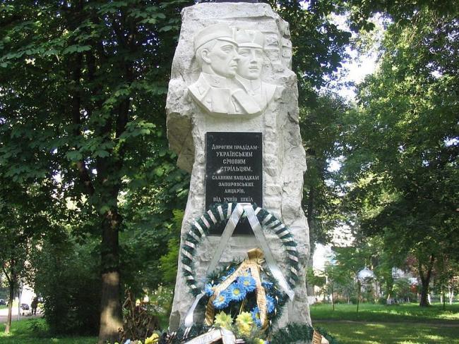 Памятник січовим стрільцям - Вінниця