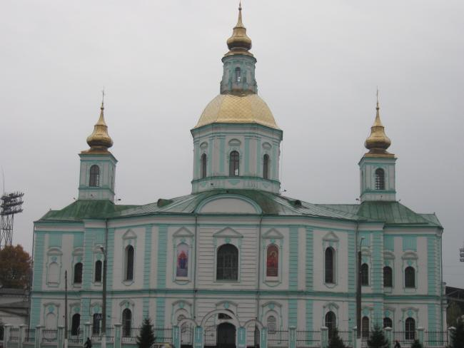 Покровський собор - Охтирка