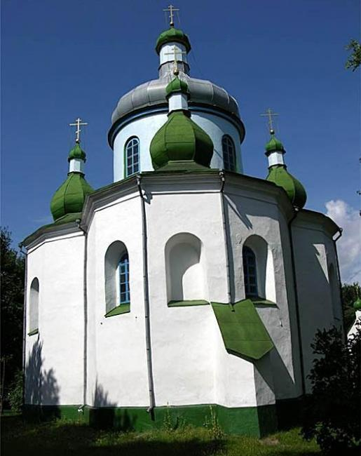 Свято-Миколаївська церква - Олевськ