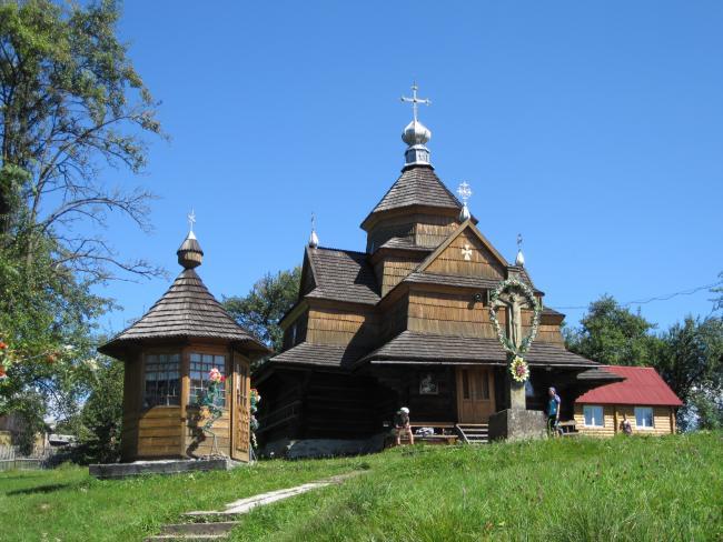 Церква Різдва Богородиці - Ворохта