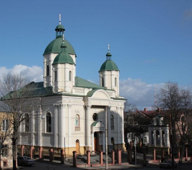 Церква Святого Андрія Первозваного - Львів