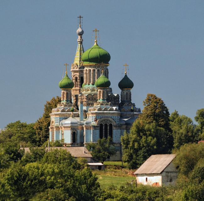 Успенський собор - Біла Криниця
