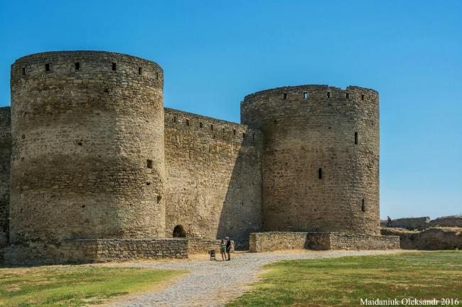 =Аккерманська фортеця - дві башти