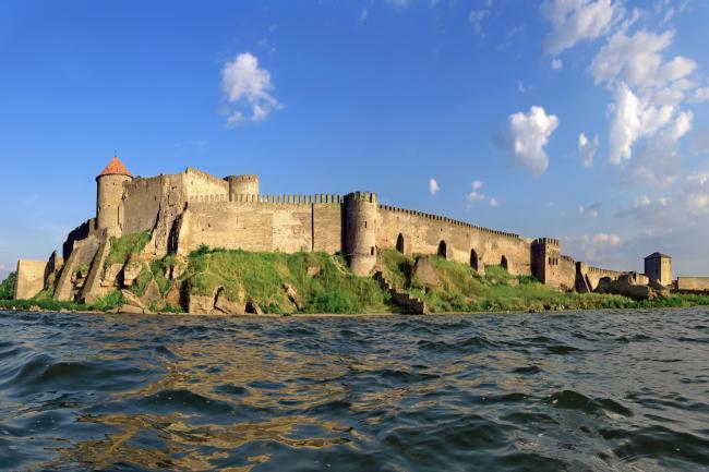 Аккерманська фортеця з моря - Одеська область