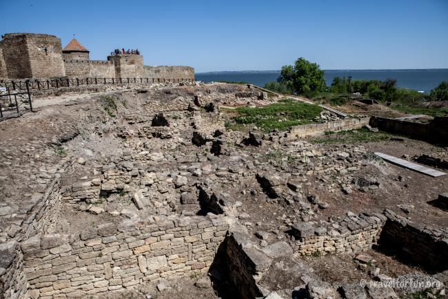 фото Аккерманськой фортеці руїни - Одеська область