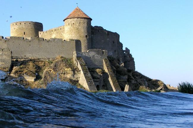 Аккерманська фортеця з човна - Одеська область